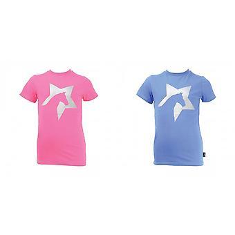 HyFASHION kinderen/Kids Zeddy Glitter T-Shirt