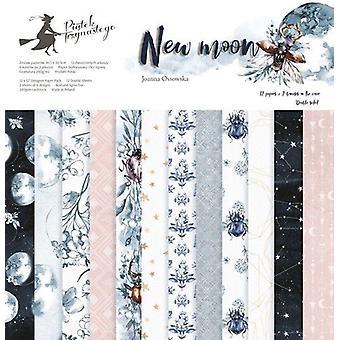 """Piatek13 12""""x12"""" Paper Pad - New Moon, 12 Sheets"""