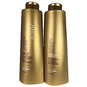 JOICO k-Pak Color Therapy shampoo & hoito aine 33,8 oz EA. korjaukset & säilyttää värillisiä hiuksia