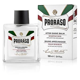Proraso White Sensitive Skin After Shave Balm With Green Tea 100ml