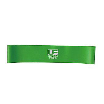 Urban Fitness Gym Training Physio Resistance Band Loop 12 Inch Green - Strong