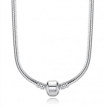 Silver Plated Snake Necklace - 5375