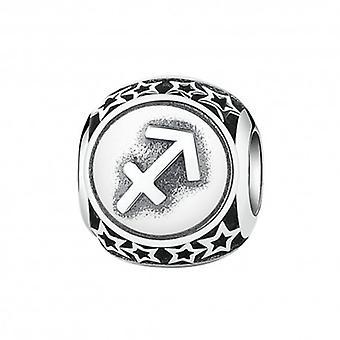 Sterling Silver Charm Zodiac Sign Sagittarius - 5426