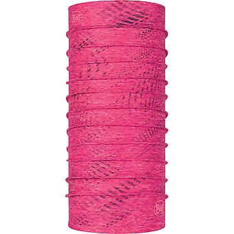 Buff Coolnet UVMD Neck Warmer dans Reflective R-Flash Pink Htr