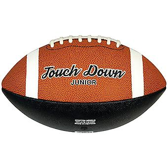 Midwest Touch Down Rubber American Football Ball Tan Junior Size