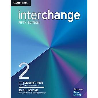 Interchange Level 2 studenten boeken met online SelfStudy van Jack C Richards