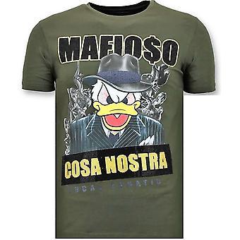T-shirt - Cosa Nostra Mafioso - Green