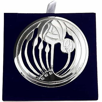 Charles Rennie Mackintosh Glasgow Rose broșă - LPB20