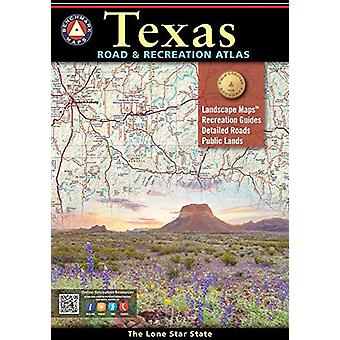 Texas Road And Recreation Atlas by National Geographic Maps - 9780929