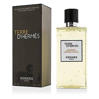 Terre D'Hermes Hair & Body Shower Gel 200ml/6.5oz