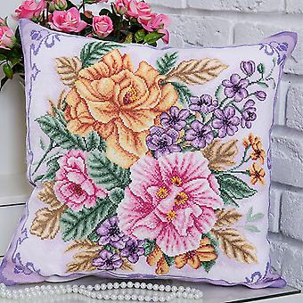 Panna Cross Stitch Kit : Blooming Flowers