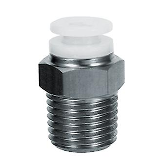 Smc Kgh06-M5 One-Touch Fitting Stainless Male Connector