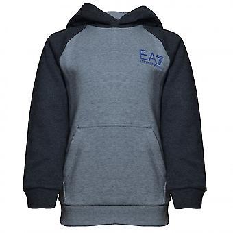EA7 Boys EA7 Boy's Medium Grey Hoody