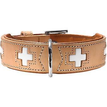 Hunter Collar Swiss Natural and Beige (Honden , Halsbanden en Riemen , Halsbanden)