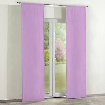 Oppervlakte gordijnen 2 pc's., lavendel, 60 x 260 cm, Loneta, 133-38