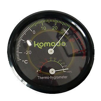 Komodo yhdistetty analoginen lämpö mittari ja kosteus mittari