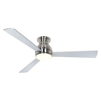 DC ceiling fan Eco Pallas BN 142 Silver / Cherry with LED