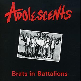 Adolescents - Brats in Battalions [CD] USA import