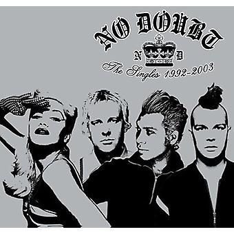 Ingen tvekan - import singlar 1992-2003 [CD] USA