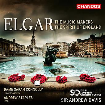 Elgar / Connolly / Staples - Music Makers / Spirit of England [SACD] USA import