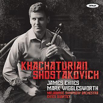 Khachaturian/Shostakovich/Melbourne - Violin Concerto/String Quartets Nos. 7 & 8 [CD] USA import