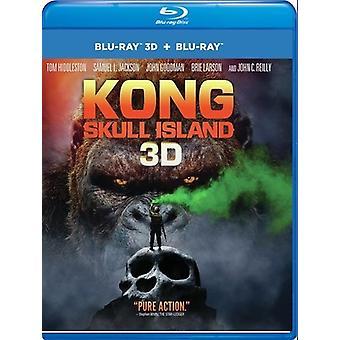 Kong: Skull Island [Blu-Ray] USA import
