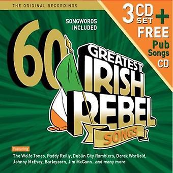 60 Greatest Irish Rebel Songs - 60 Greatest Irish Rebel Songs [CD] USA import