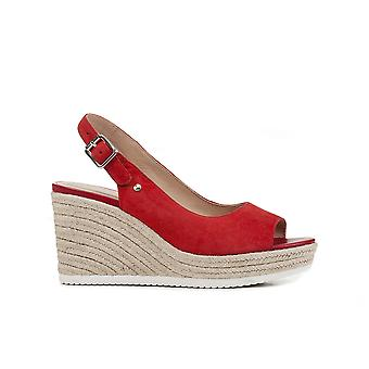 Geox d ponza sandals womens red