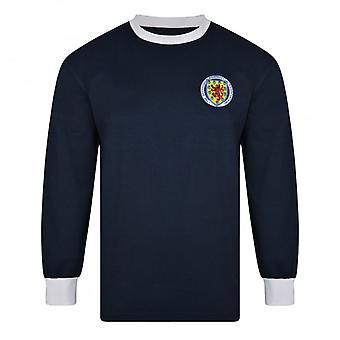 Score Draw Scotland 1967 Long Sleeve Retro Football Shirt