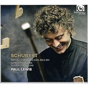 F. Schubert - Schubert: Piano Sonatas [CD] USA import