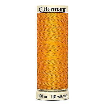 Gutermann sy-alle 100% polyester tråd 100m hånd- og maskinfarvekode - 362