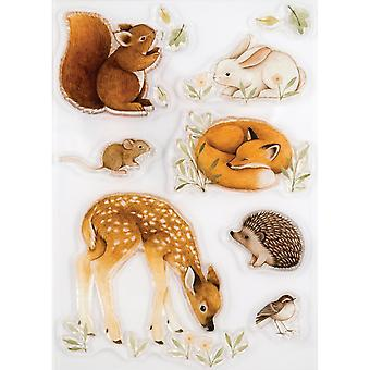 Craft Consortium Little Fawn & Friends Clear Stamps Little Fawn