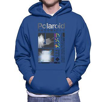 Polaroid Endlose Abenteuer Männer's Kapuzen Sweatshirt
