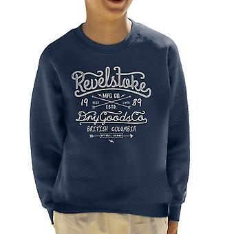 Teilen & erobern Revelstoke Trockenwaren Kid's Sweatshirt