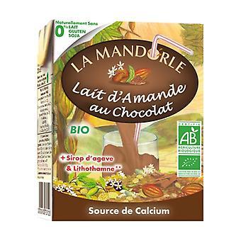 Chocolade amandelmelk 200 ml