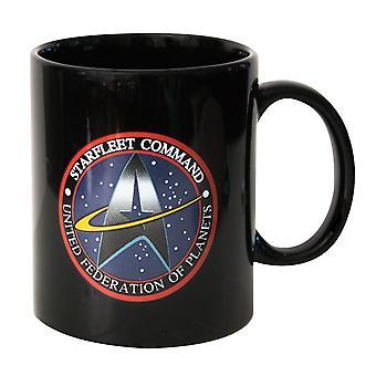 Star Trek Starfleet Command Logo Mug