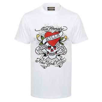 Ed Hardy   Kill Love Half Sleeve T-shirt