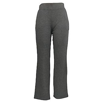 Belle by Kim Gravel Women's Lounge Pants Straight Leg Gray A310259