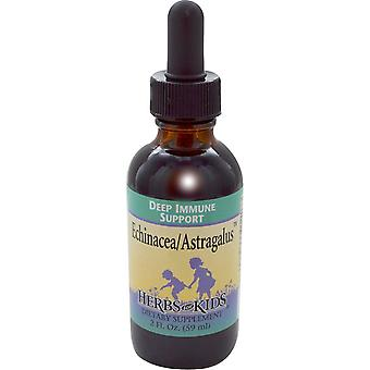 Herbs for Kids, Herbs for Kids, Echinacea/Astragalus, 2 fl oz (59 ml)