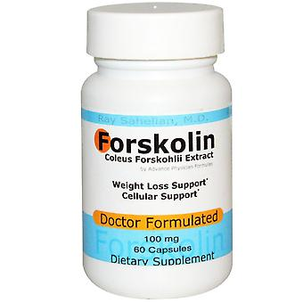 Advance Physician Formulas, Forskolin, Coleus Forskohlii Extract, 100 mg, 60 Cap