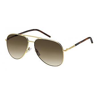 Sunglasses Men's men's pilot Havana/golden brown