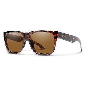 نظارات شمسية Unisex Lowdown 2n الظلام هافانا / البرونزية