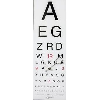 NeXtime 3067 Eyesight [75x25,4 cm, wit/ zwart]