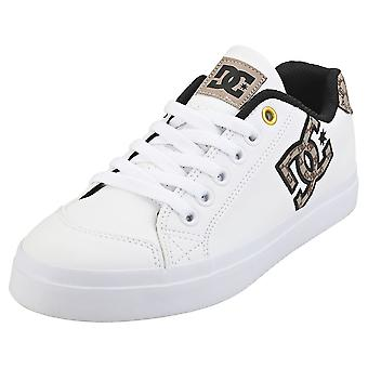 DC Shoes Chelsea Plus Se Sn Womens Casual Trainers in White Tan