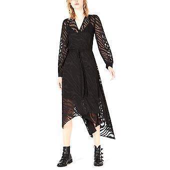 Bar III   Burnout Wrap Dress