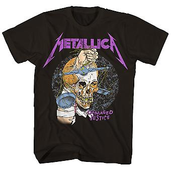 Metallica T Shirt Damaged Justice '88 Tour T-Shirt
