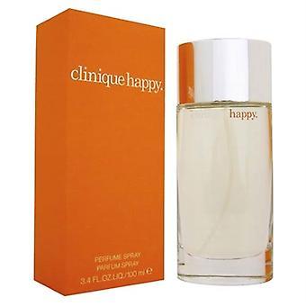 Feliz pela Clinique para mulheres 3,4 oz Eau De Parfum Spray