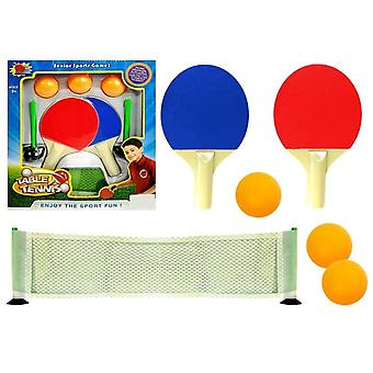 Set voor tafeltennis Rackets Netballen
