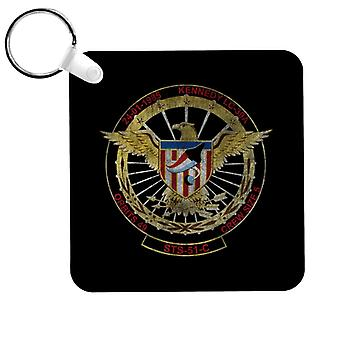 NASA STS 51 C Discovery Mission Badge Distressed Keyring