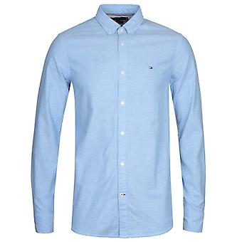 Tommy Hilfiger Blue Slim Fit Oxford Shirt